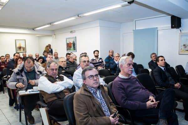 Anodes presentation at the Naval Architects Club in Piraeus