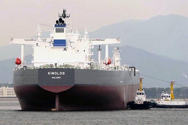L tanker kimolos