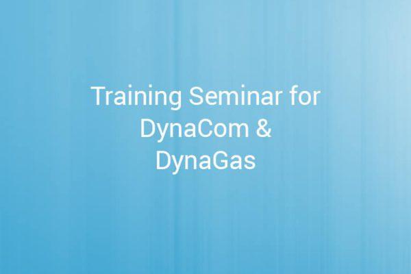 Training Seminar for DynaCom DynaGas