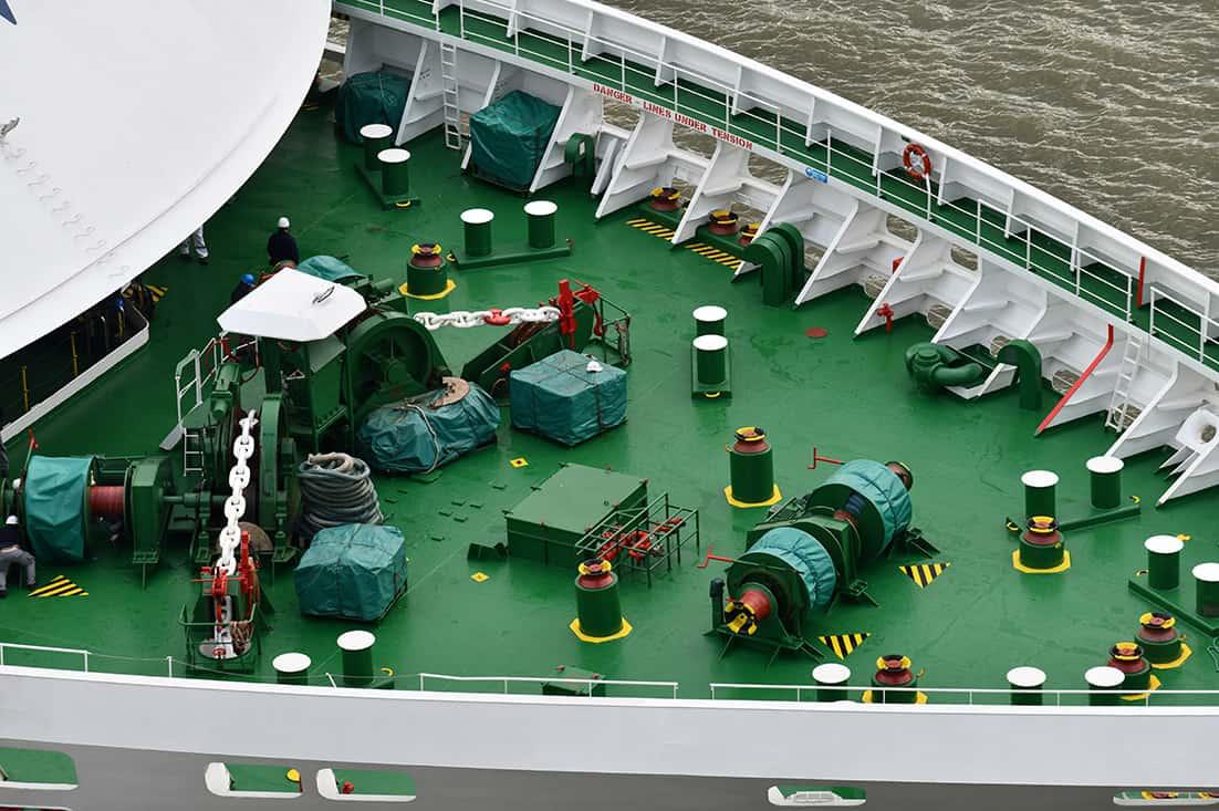 Vessel Deck Equipment