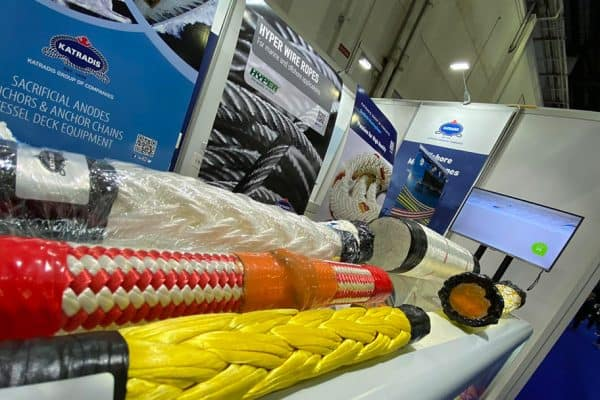 Katradis Marine Ropes Industry exhibiting at Gastech 2021