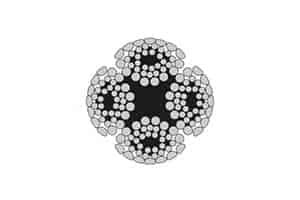 HYPERFORCE 4 - 4x39 纤维芯钢丝绳